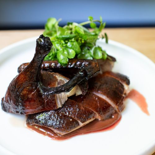 Dry Aged BBQ Duck