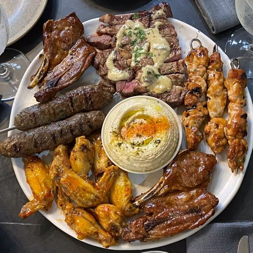 Shared Meat Platter