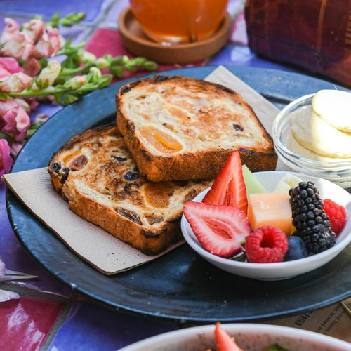 Fig & Apricot Fruit Toast