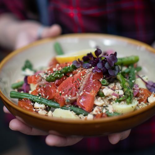 Smoked Ocean Trout Salad