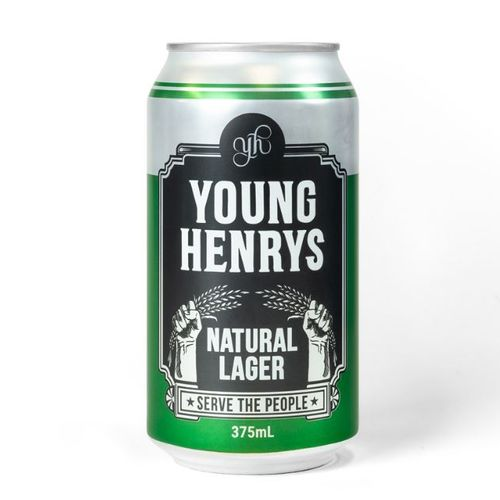 Young Henry's Natural Lager Single