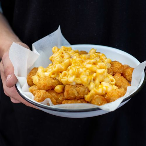 Mac N Cheese Tots