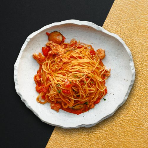 Spaghettini Al Granchio