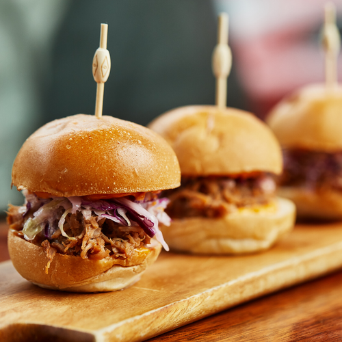 Carolina-Style Pork Sliders (3)