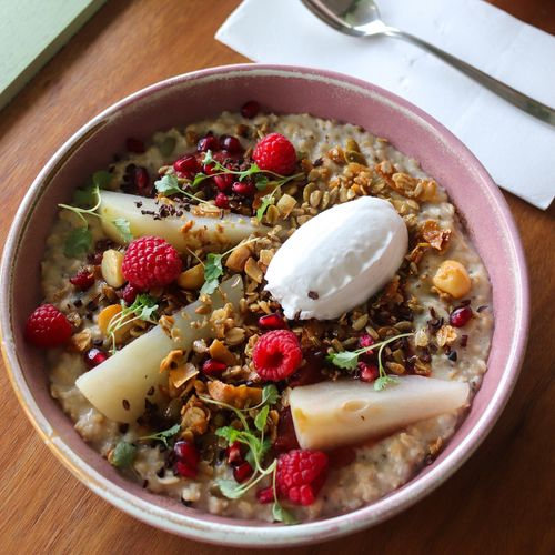 Oat and Chia Porridge