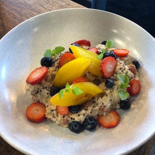 Coconut Bircher Muesli