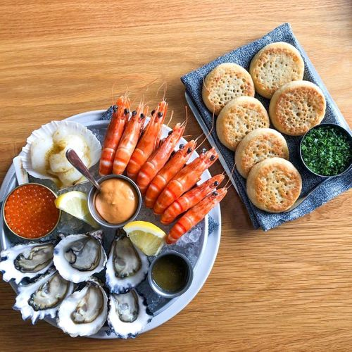 Cold `Taste Of The Sea' Plate