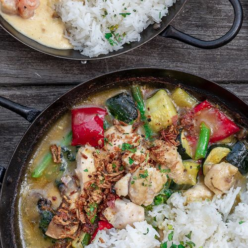 Chicken Bangkok Green Curry