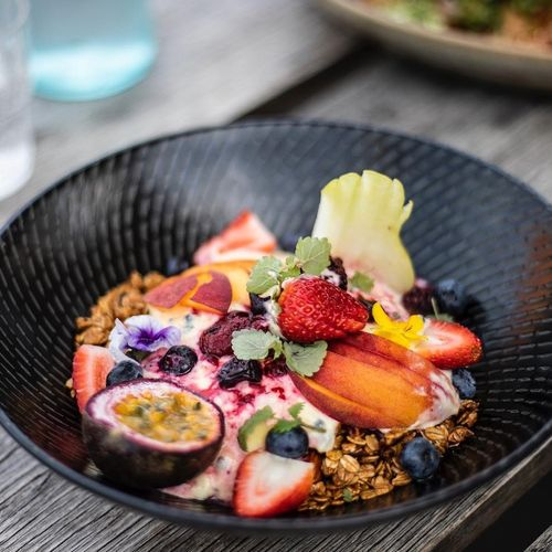 Granola Fruit Bowl