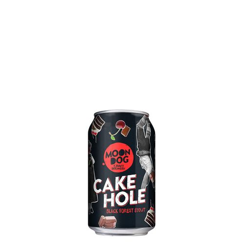 Cake Hole Black Forest Stout 300ml Cans
