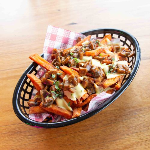 Loaded Fries Bacon + Cheese Sauce