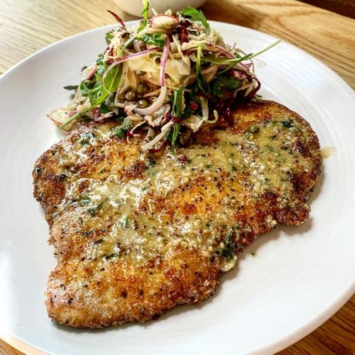 Crumbed Chicken Breast Schnitzel