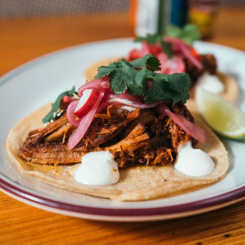 Pork Cochinita Taco