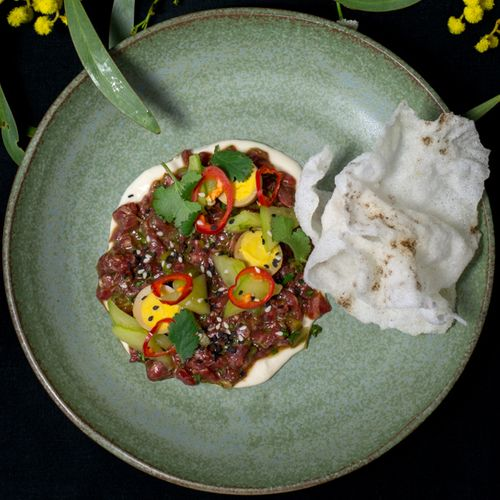 Steer Steak Tartare