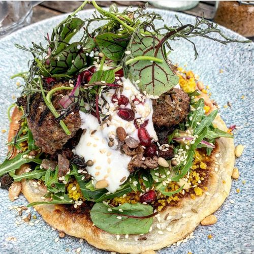 Persian spiced lamb kofta