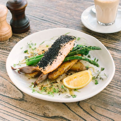 Pan Fried Atlantic Salmon