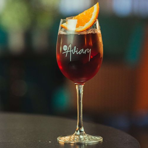 Aviary Sangria Red