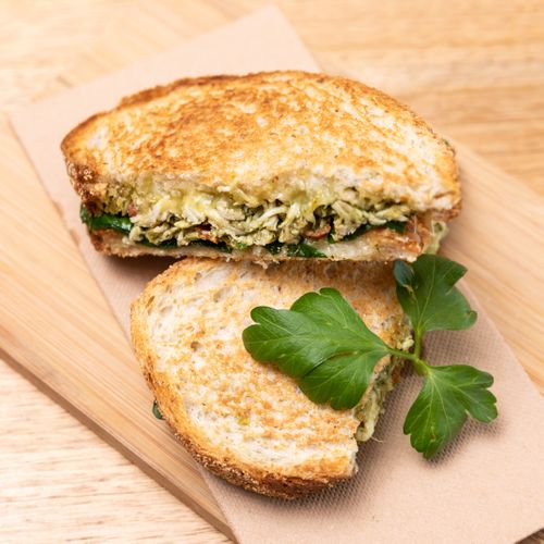 Chicken Pesto Toastie