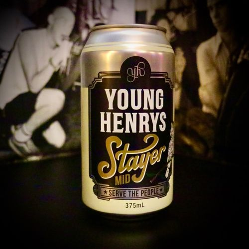 Young Henrys 'Stayer' 3.5% Mid- Strength  (6 Pack)