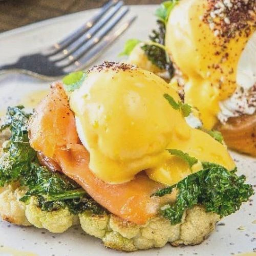 Eggs Benefit with Smoked Salmon