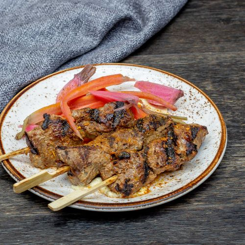 Grilled Wallaby Skewers (3)