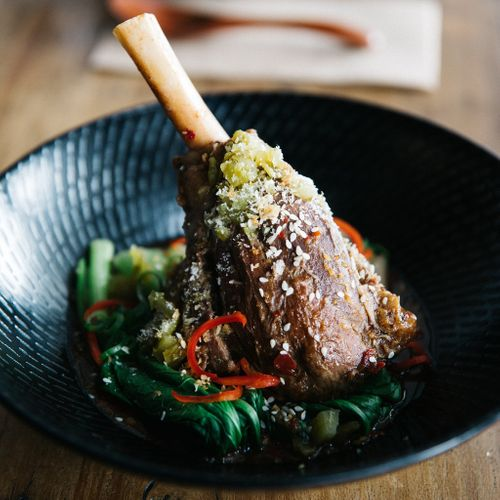 Red Braised Lamb Shank