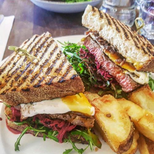 Scotch Fillet Steak Sandwich