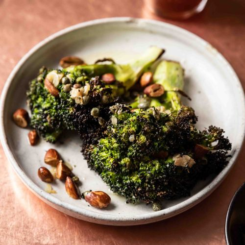Charcoal-Grilled Broccoli