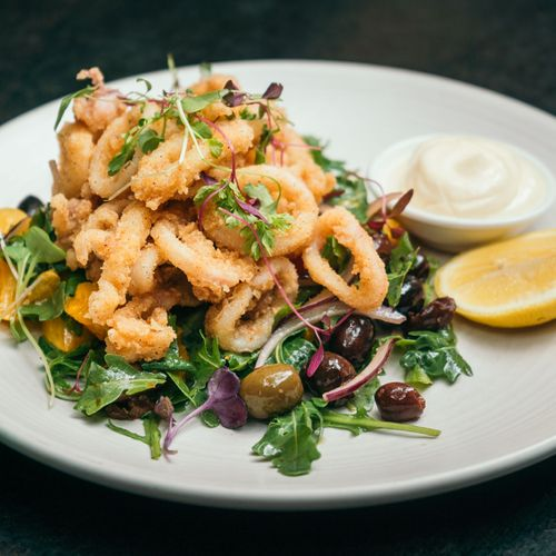 Spice-Dusted Calamari