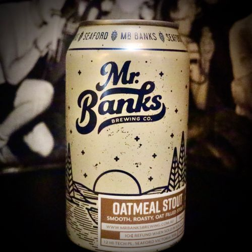 Mr Banks Oatmeal Stout 5.5% (4 Pack)