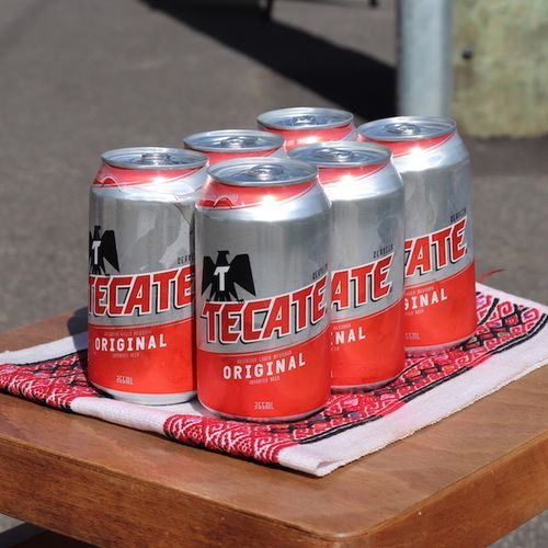Tecate Six Pack