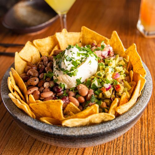 Mixed Bean Nachos