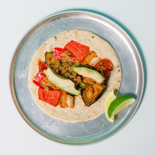 Grilled Veggie Taco