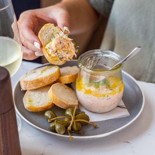 Smoked Ocean Trout Rillette