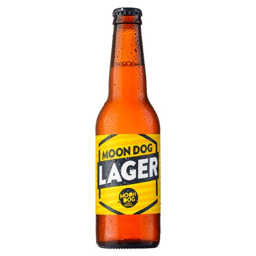 Moon Dog Lager 330ml Bottle