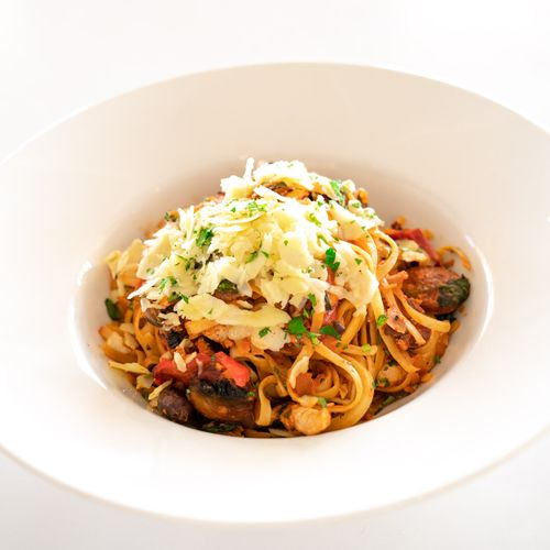 Chicken & Chorizo Linguine