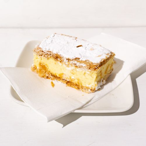 French Vanilla Slice