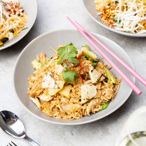 Spiced Pineapple Fried Rice