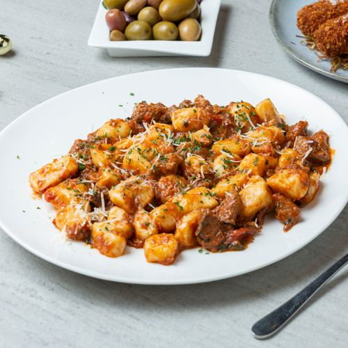 Gnocchi With Lamb Ragu