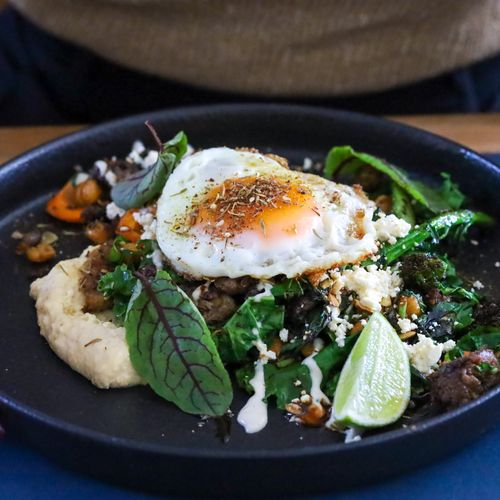 Middle Eastern Lamb Hash