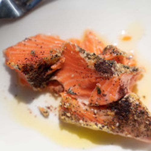 Slow Cooked Trout
