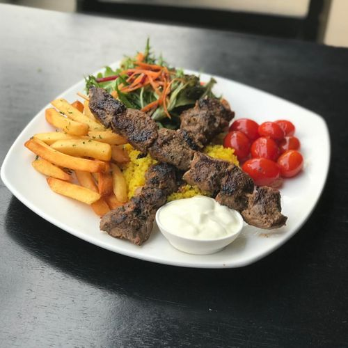 Lime Infused Lamb Kebab
