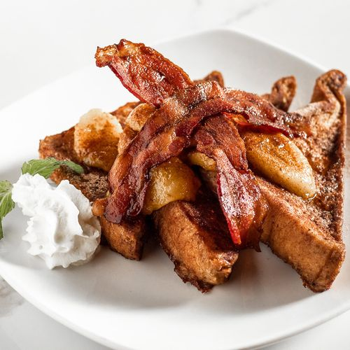 Banana & Bacon French Toast