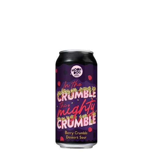 In The Crumble The Mighty Crumble Berry Dessert Sour 440ml Can